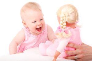 赤ちゃん、自由、笑顔