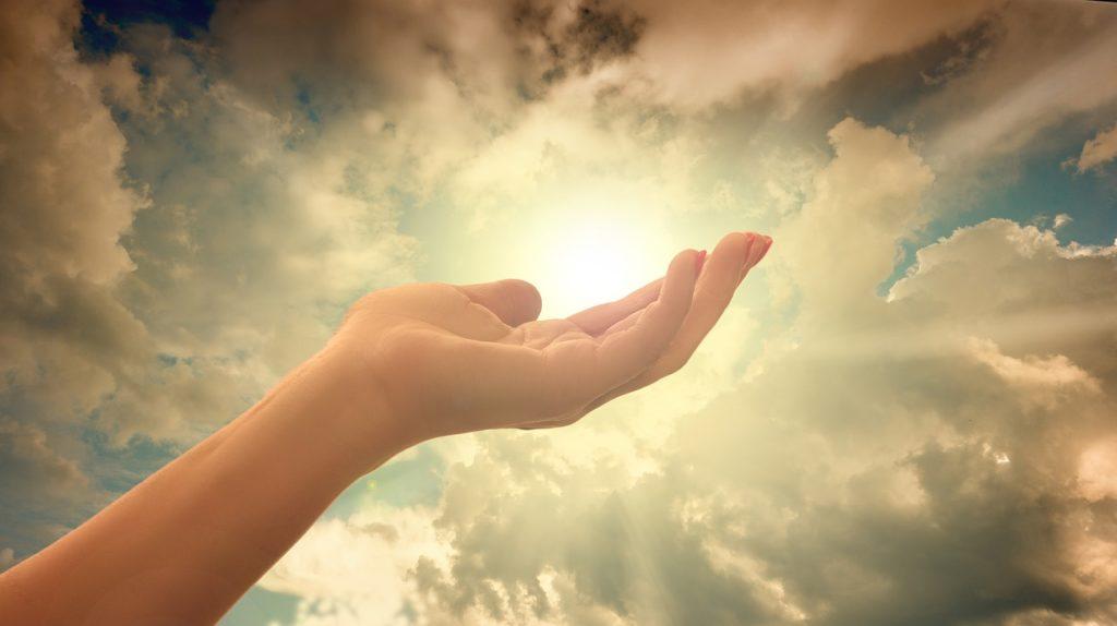 宇宙のエネルギー、流れを掴む、手に入れる