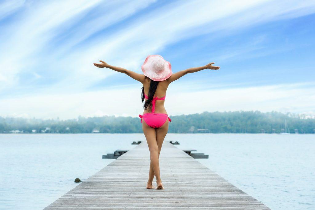幸せ、開放感、人生を満喫、人生を謳歌